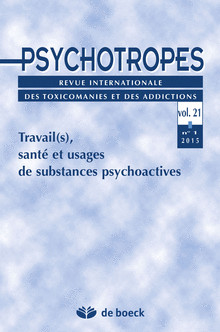 psychotrope travail
